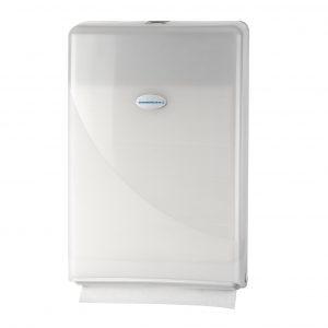 Minifold dispenser handdoekjes wit