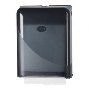ZZ vouw handdoekdispenser zwart